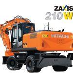 Hitachi Zaxis ZX210W-3 – самый тяжелый колесный экскаватор серии