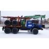 Лесовозный тягач Урал  с манипулятором Атлант С-90