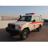 Новая машина скорой помощи TOYOTA LAND CRUISER HZJ78